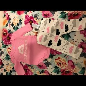NWT little dreamer outfit